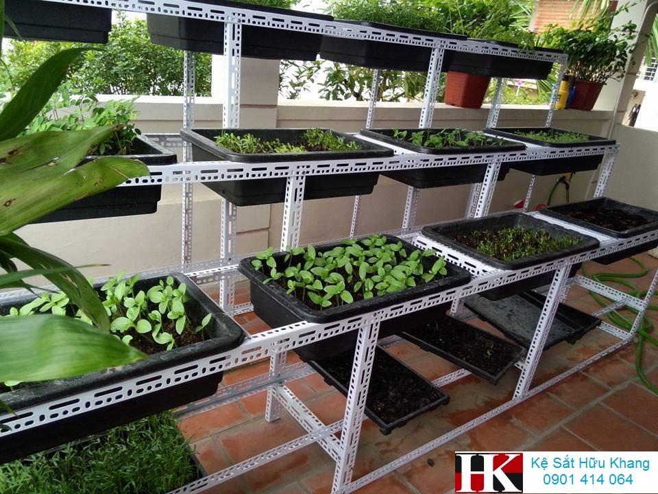 Kệ trồng rau Hữu Khang